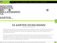 1a-garten-eickelmann.de Webseite Vorschau