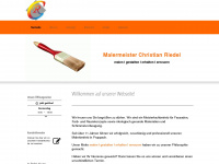 malermeister-riedel.de