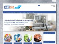 lorenz-greifzangen.de Webseite Vorschau