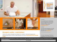 physio-oehl.de Webseite Vorschau