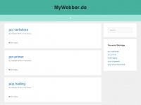mywebber.de
