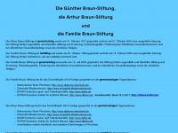 guenther-braun-stiftung.de