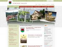 gemeinde-mauer.de Webseite Vorschau