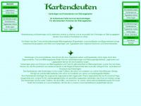 kartendeuten.de Webseite Vorschau