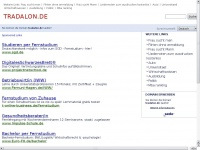tradalon.de Webseite Vorschau