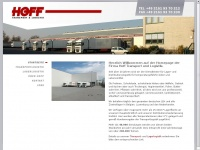 Hoff hoff transport logistik gmbh co for Hoff interieur gmbh co kg