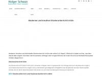 holger-schwan.de Webseite Vorschau