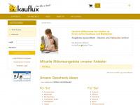 kauflux.de Webseite Vorschau