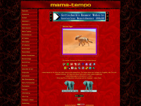 mama-tempo.de Webseite Vorschau