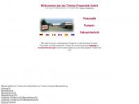 uv-schlaeuche.de Webseite Vorschau