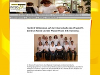 physio-fit-recke.de Webseite Vorschau