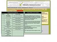 xwaffe.de Webseite Vorschau