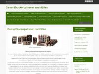 canon-patronen-nachfuellen.de Webseite Vorschau