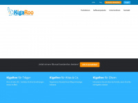 kigaroo.de Webseite Vorschau