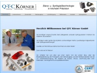 qtc-koerner.de Webseite Vorschau