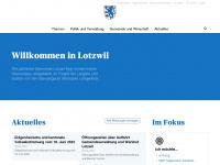 lotzwil.ch Webseite Vorschau