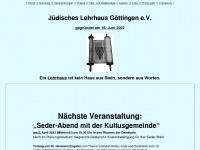 juedisches-lehrhaus-goettingen.de Webseite Vorschau