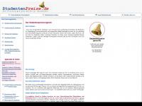 studentenpreise.de Webseite Vorschau