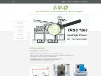 industrie-vertretung-ohsmer.de Webseite Vorschau