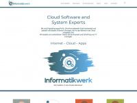 informatikwerk.de Webseite Vorschau