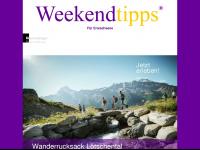 weekendtipps.com Webseite Vorschau