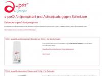 antiperspirant.ch