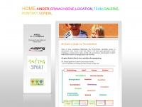 kindersportclub.at Webseite Vorschau