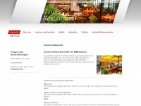 uzuns-restaurant.de Webseite Vorschau