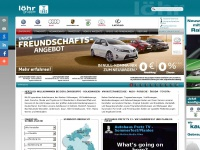 loehr-automeile.de Webseite Vorschau