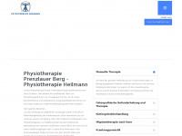 physiotherapie-heilmann.de Webseite Vorschau
