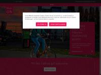 fahrradwien.at Webseite Vorschau