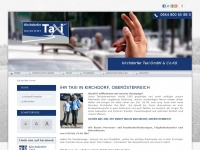 kirchdorfer-taxi.at Webseite Vorschau