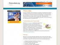 photovoltaik.org Webseite Vorschau