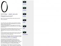uv-filtershop.de Webseite Vorschau