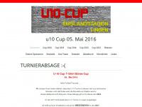 u10-cup.de Webseite Vorschau