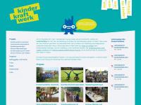 kinderkraftwerk.ch Webseite Vorschau