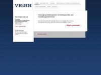 vereinigung-hamburgischer-verwaltungsrichter.de Webseite Vorschau