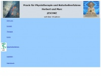 physio-naturheilpraxis.de Webseite Vorschau
