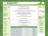 kicktipp24.de Webseite Vorschau