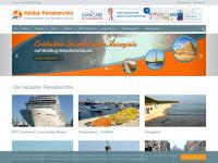 holiday-reiseberichte.de Webseite Vorschau