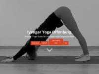 iyengar-yoga-offenburg.de Webseite Vorschau
