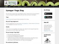 iyengar-yoga-zug.ch Webseite Vorschau