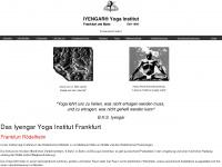 iyengar-yoga-institut.de Webseite Vorschau