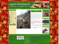 jagen-hunting.de Webseite Vorschau