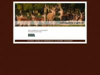 jagen-in-ungarn.de Webseite Vorschau