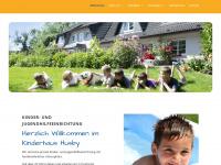 kinderhaus-husby.de Webseite Vorschau