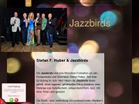 jazzbirds.de Webseite Vorschau