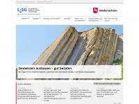 lbeg.niedersachsen.de Webseite Vorschau
