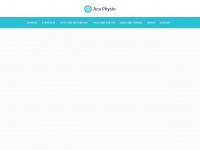 aca-physio.de Webseite Vorschau