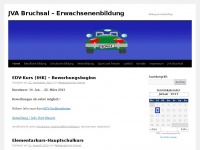 jvabruchsal-bildung.de Webseite Vorschau